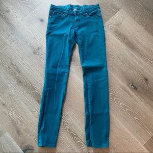 Vintage Wet Seal Turquoise Jeans